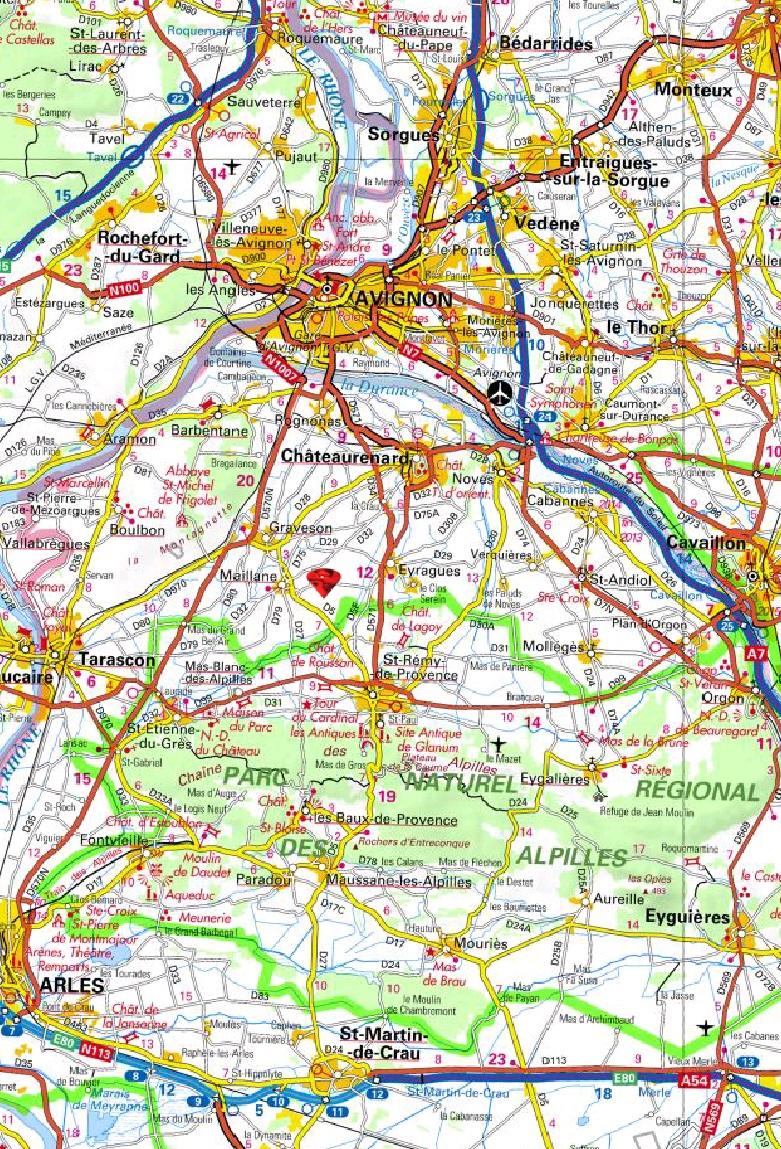 carte avec zone de livraison de biochezvous